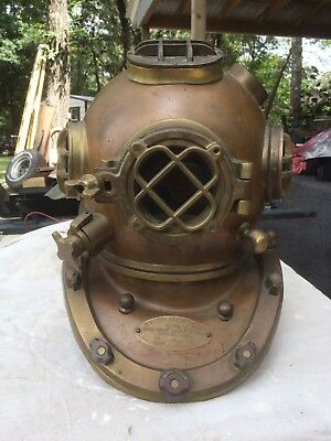 US Navy MK V Replica Diving Helmet