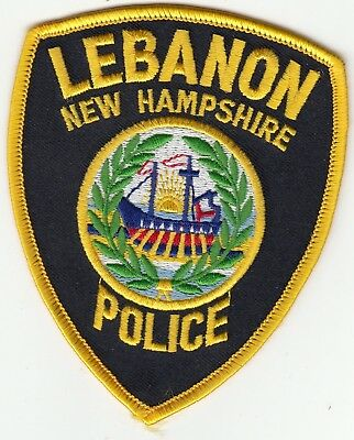 Lebanon New Hampshire Police Shoulder Patch Nh