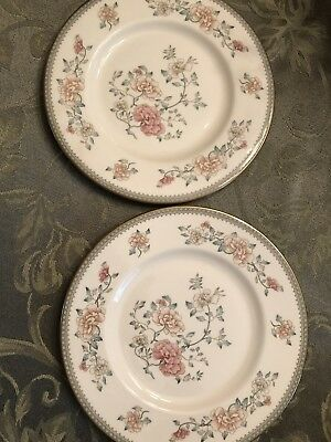 Four (4) Jasmine By Minton, Royal Doulton, Bread Plates