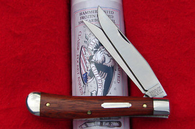 Great Eastern Tidioute #48 Improved Trapper Knife GEC USA 488217 - Bloodwood