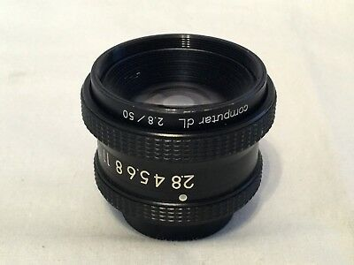 Computar dL 50mm f2.8 enlarging lens, good used condition