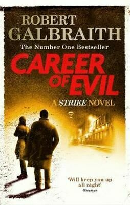 NEW Career of Evil By Robert Galbraith Paperback Free Shipping