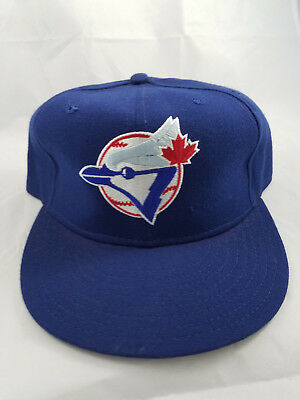 VTG TORONTO BLUE Jays New Era Pro Model Diamond Collection 90s Hat 7 ... e340b0bb7d82
