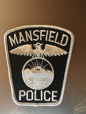 Mansfield, Ohio Subdued Police Patch