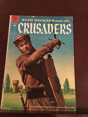 DELL  COMICS    #588    King Richard and the Crusaders  1954   Photo Cover