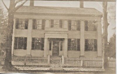 52200. ca 1905 Photo Hyde Family Colonial Home East Windsor CT Warehouse Point