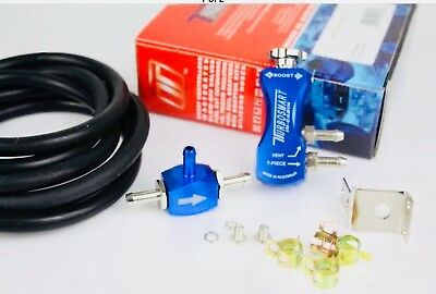 TurboSmart In-Cabin Manual Boost Control Valve MBC Universal TS-0106-1001 Blue