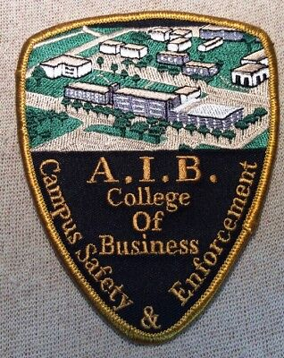 IA AIB College of Business Iowa Campus Safety Patch