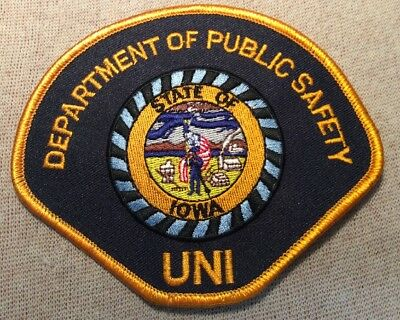 IA University of Northern Iowa Public Safety Patch