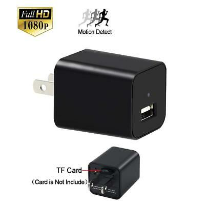 Mini Camera, YYCAMUS 1080P HD Spy Camera charger with Motion Detection Loop...