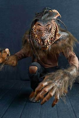 Nightmare Collection Snarling Werewolf Mask & Arms Mario Chiodo HUGE!