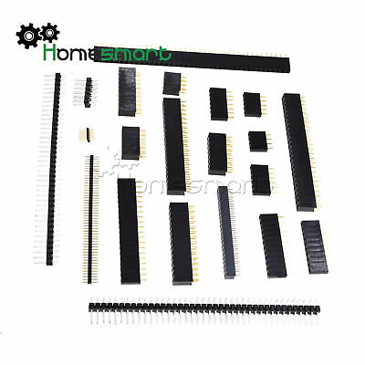 Pin Header Strip 1.27/2.0/2.54mm 4-50pin Single/Double Row Straight Male/Female