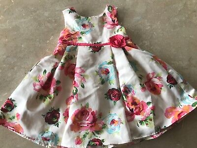 Monsoon baby girl dress 6-12 months