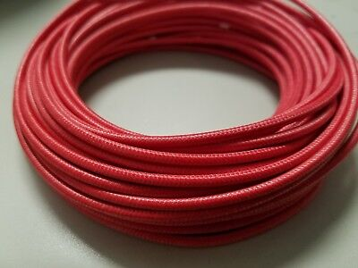 14 AWG RED 200c High-Temperature Appliance Wire SRML 25' FT