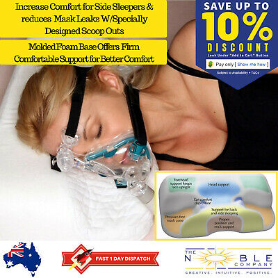 CPAP Pillow for Side Sleepers CPAP Machine Pillows Sleep Apnea Mask Stop Snoring