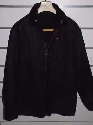 barbour d209 duracotton polarquilt jacket   jacke waxed cotton    L
