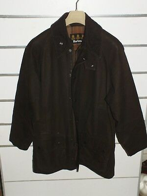 barbour a2010 leather beaufort Coat  jacket  m