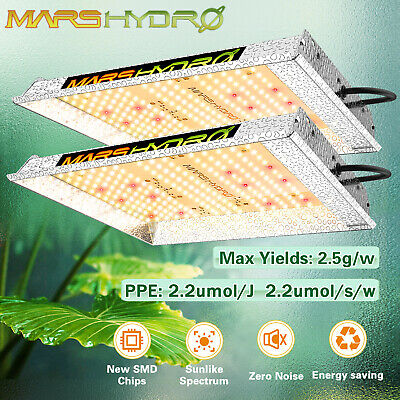 Mars Hydro Reflector 300W Led Grow Light Full Spectrum Lamp Hydroponic Veg Bloom