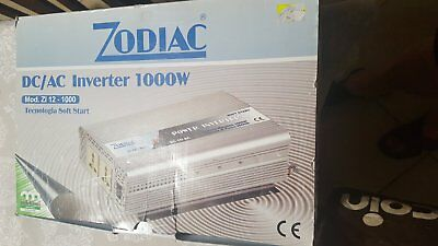 ZODIAC DC/AC Inverter 1000W Modello ZI 12 - 1000 Tecnologia Soft Start