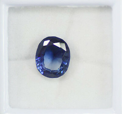 AAA+ Quality 9.90 Ct Natural Blue Ceylon Sapphire Certified Loose Gemstone