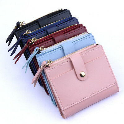 NEW Women Girl Leather Wallet Card Holder Coin Purse Clutch Small Cute Handbag