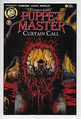 Puppet Master Curtain Call #1 Cvr D (Action Lab, 2017) NM