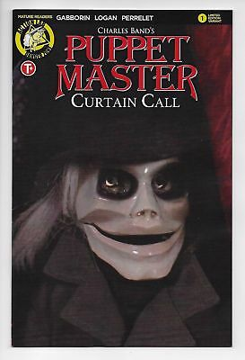 Puppet Master Curtain Call #1 Cvr E (Action Lab, 2017) NM