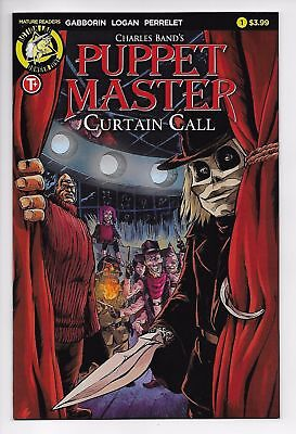 Puppet Master Curtain Call #1 Cvr A (Action Lab, 2017) NM