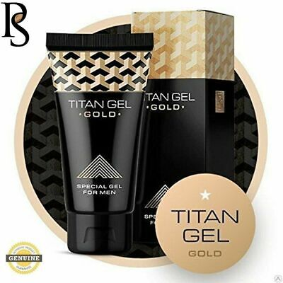 TITAN GEL GOLD 50 ml, ingrandire il pene, nuovo, originale, italia