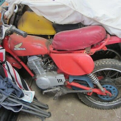 Honda XR80 1979 project bike