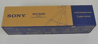 Sony VCT-R100 Tripod With Carry Bag Brand New Surplus Stock