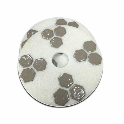 17 Inch Honeycomb Diamond Floor Polishing Pad 800 Grit