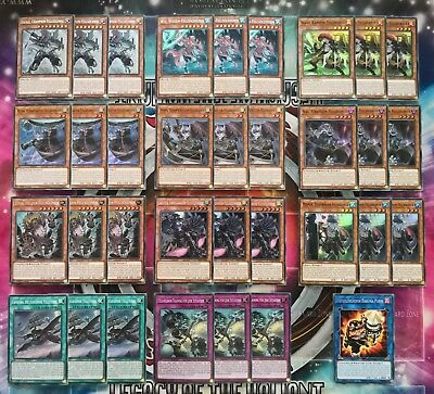 FELLSÖLDNER/FUR HIRE DECK/SET/CORE-Dyna,Rafale,Wiz,Sagitta,Training Yu-Gi-Oh