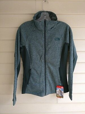 b9c0ed536 THE NORTH FACE womens Spark hoodie jacket full-zip Spruce XL ...