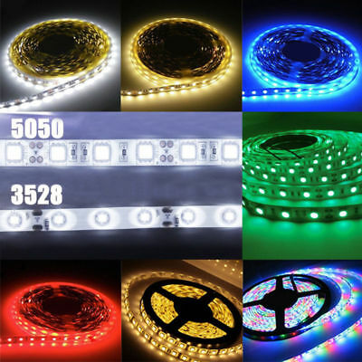 DC 24V 1/5M 5050 SMD 60led/M LED Flexible Light Strip Car Lamp Birthday Party