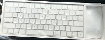 Apple Magic Keyboard AND Magic Mouse 2 COMBO Bluetooth Rechargeable A1644/A1657