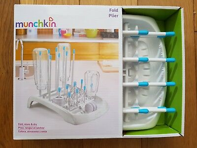 Munchkin Deluxe Baby Bottle Drying Rack