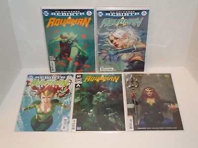Aquaman 10 26 28 32 39 (VF/NM/NM- or 9.0/9.2) All Middleton Variants - Sold out!