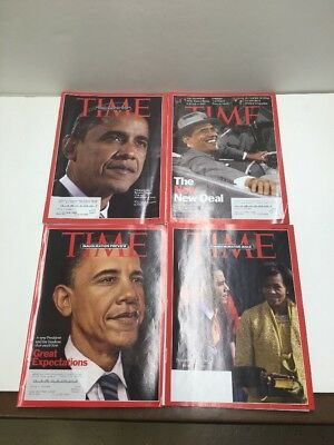 Time Magazine Barack Obama Commemorative Issues Inauguration Preview New Deal  4
