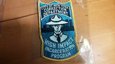 "City of New York Correction Department PATCH 5"" x 3"" #4"