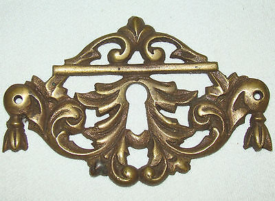 Antique Brass Key Hole Escutcheon