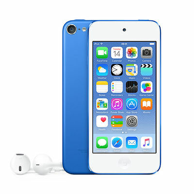 Apple iPod touch 6th Generation Blue (32GB) (Latest Model) MKHV2LL/A