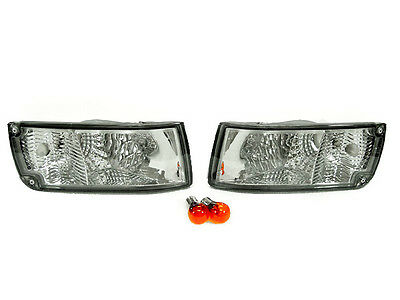 DEPO Smoke Bumper Signal Lights FIT FOR 90 91 92 93 94 95 96 Nissan 300ZX Z Z32