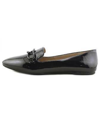 fd939fd8924 ENZO ANGIOLINI WOMENS Lorell Leather Square Toe Loafers