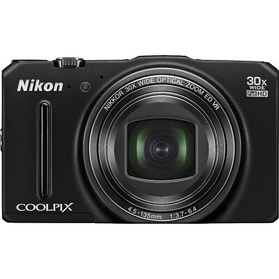 Nikon COOLPIX S9700 16MP Digital Camera w/ 30x Zoom + Wi-Fi + GPS (Black)