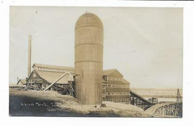 Sand Point Idaho...Saw Mill...Vintage RPPC