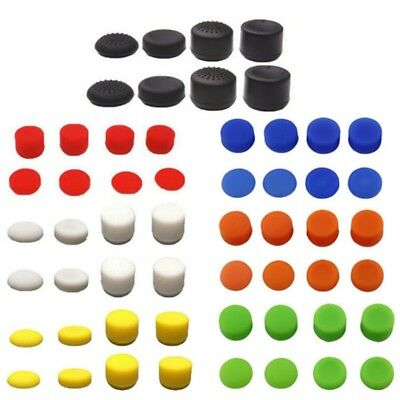 8X Silicone Thumb Grips Cap for PS4 Xbox 360 Nintendo Switch Controller