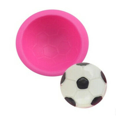 3D Silicone Basketball Football Chocolate Mold Cake Decor Mould Kitchen Tool B