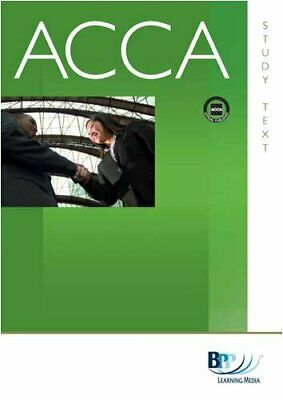 ACCA - F5 Performance Management: Study Text by BPP Learning Media Paperback The