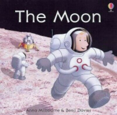 On the Moon (First Discovery) by Anna Milbourne Hardback Book The Cheap Fast